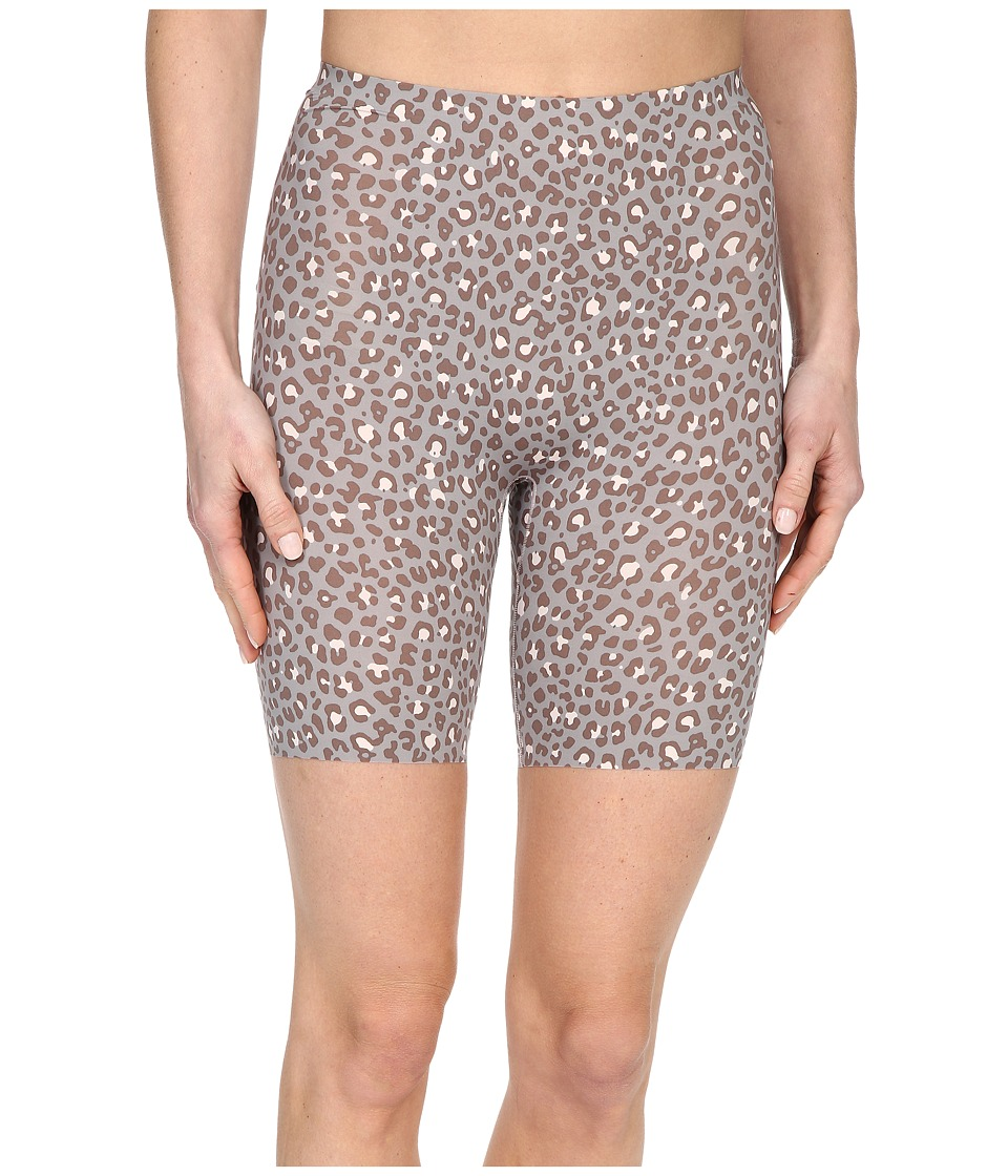 Spanx - Thinstincts Mid-Thigh Short (Leopard Print) Women's Underwear
