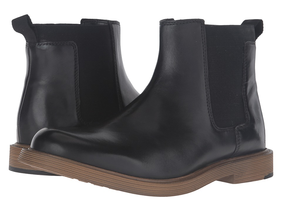Clarks Feren Top (Black Leather) Men