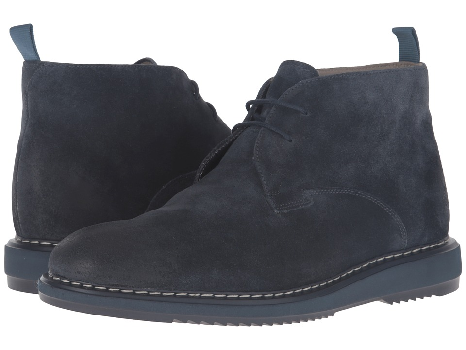 Clarks - Kenley Mid (Navy Suede) Men's Shoes