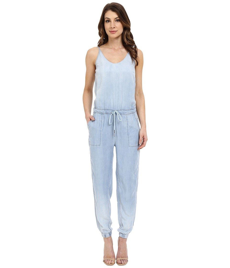 Blank NYC - Indigo Tencel Jumpsuit (Blue) Women's Jumpsuit & Rompers One Piece