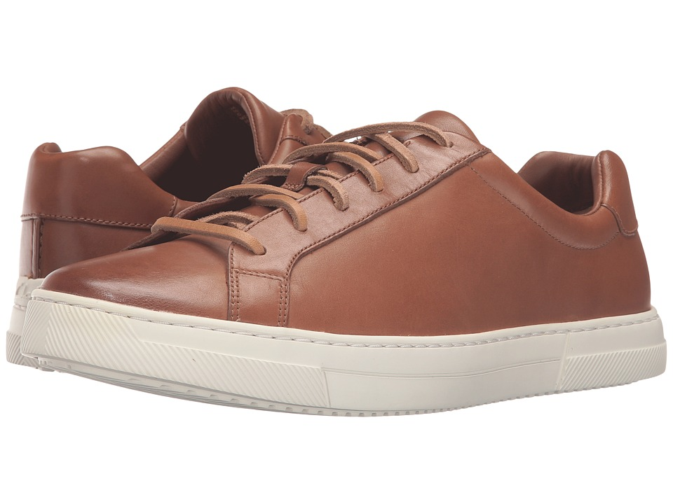 Clarks - Ballof Up (Tan Leather) Men's Lace up casual Shoes