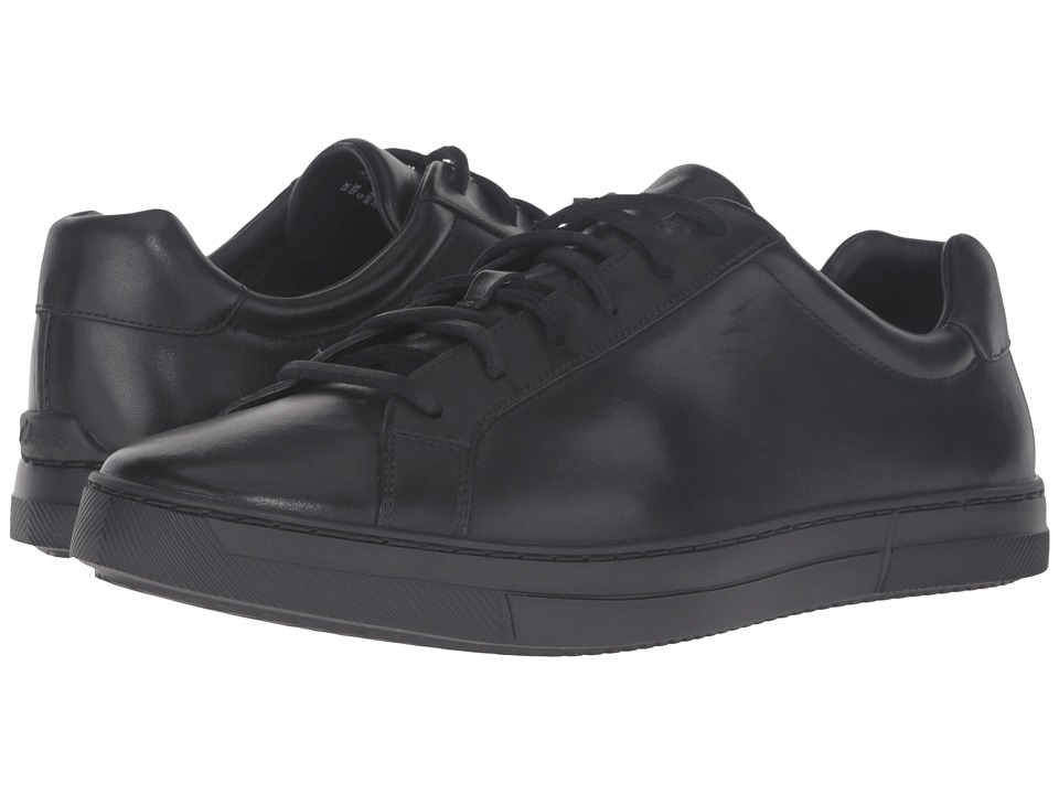 Clarks Ballof Up (Black Leather) Men