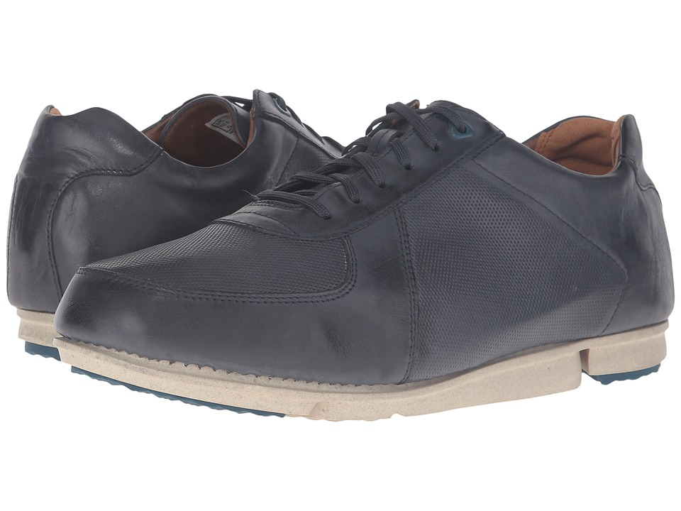 Clarks Triturn Race (Dark Blue Leather) Men