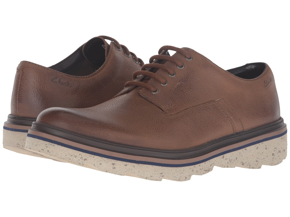 Clarks - Frelan Lace (Brown Leather) Men's Shoes
