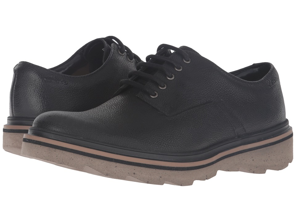 Clarks Frelan Lace (Black Leather) Men