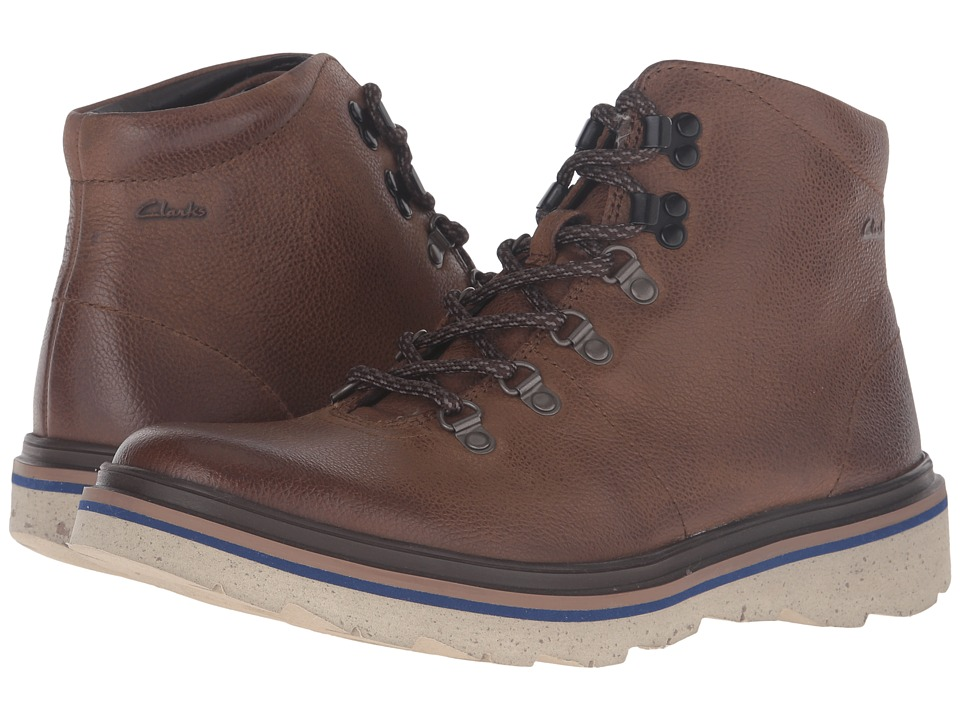 Clarks Frelan Alp (Brown Leather) Men