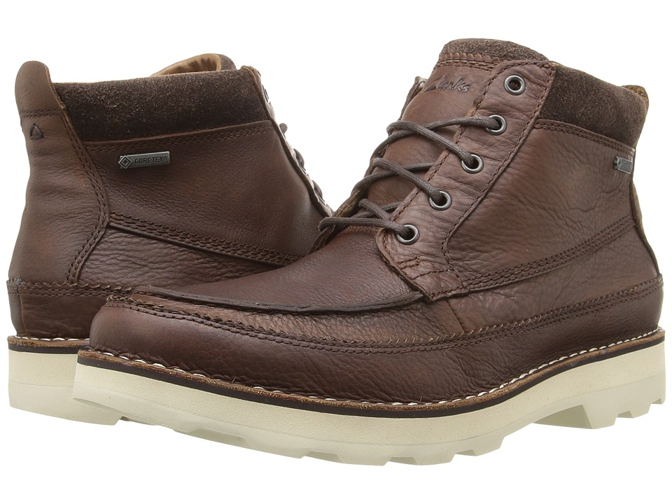 Clarks Korik Rise GTX (Tobacco Leather) Men