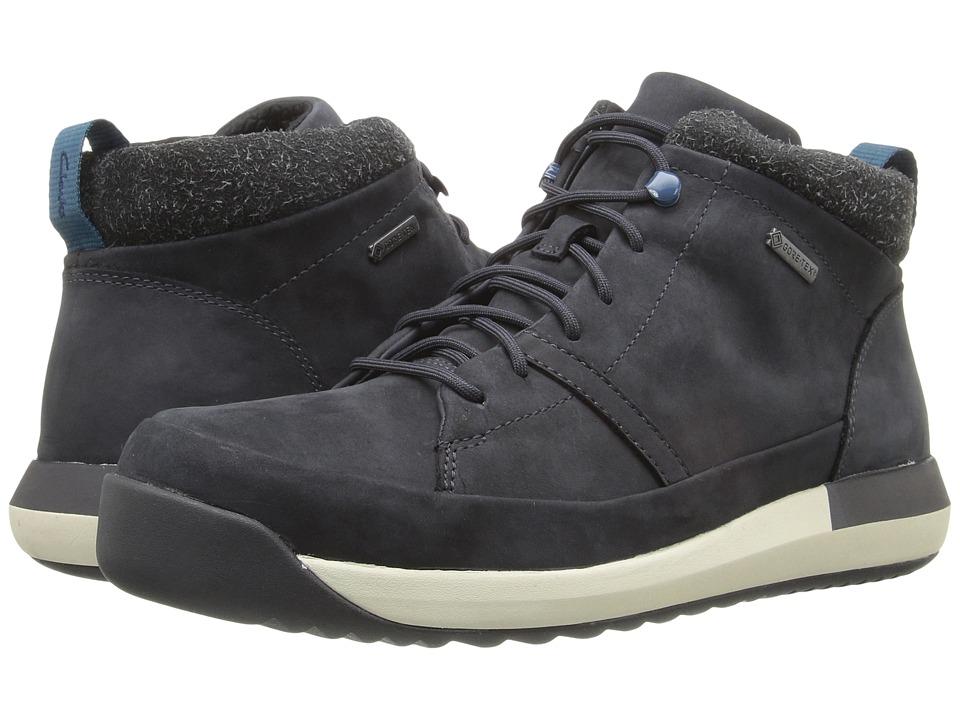 Clarks - Johto Hi GTX (Dark Blue Nubuck) Men's Shoes