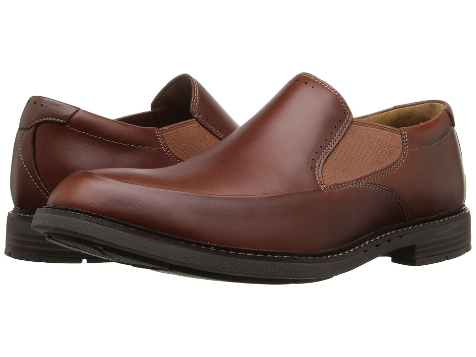 Clarks - Un.Elott Step (Tan Leather) Men's Shoes