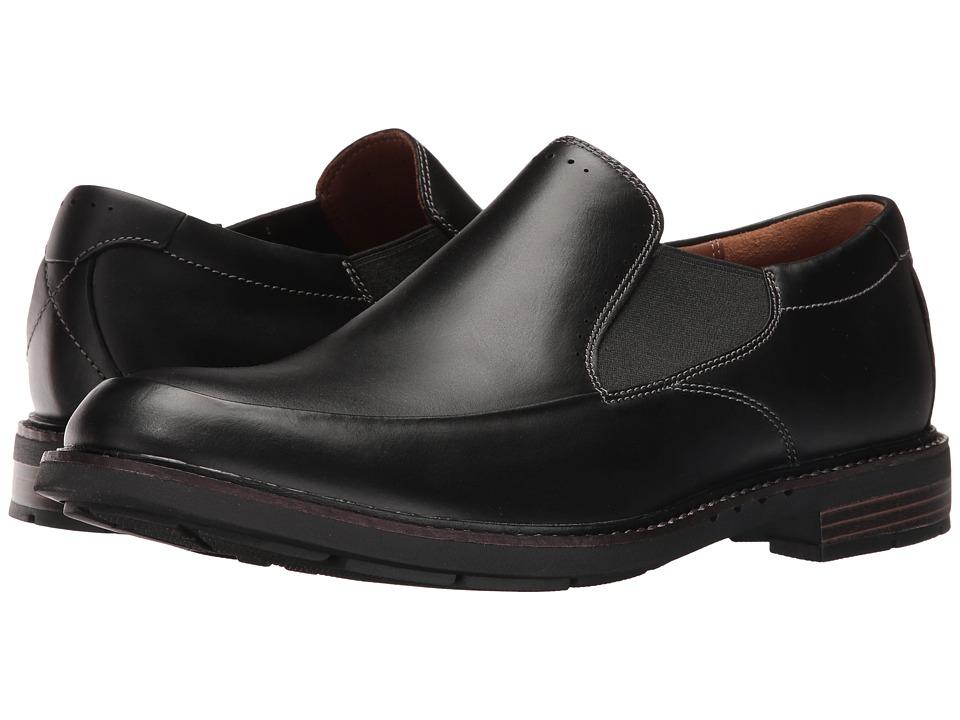 Clarks Un.Elott Step (Black Leather) Men