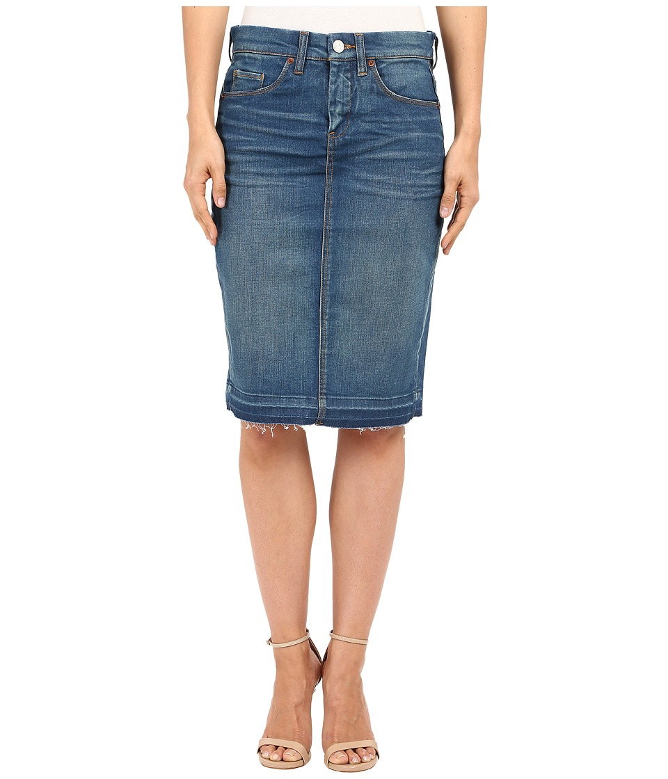 Blank NYC - Denim Pencil Skirt (Denim Blue) Women's Skirt plus size,  plus size fashion plus size appare
