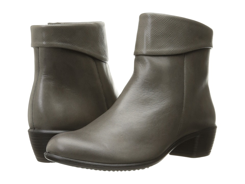ECCO - Touch 35 (Warm Grey/Warm Grey) Women's Boots