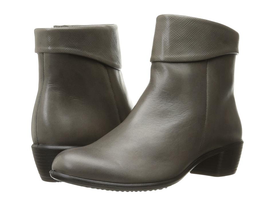 ECCO - Touch 35 (Warm Grey/Warm Grey) Women's Boots