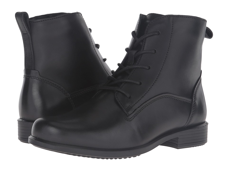 ECCO - Touch 25 Lace Boot (Black 2) Women's Lace-up Boots