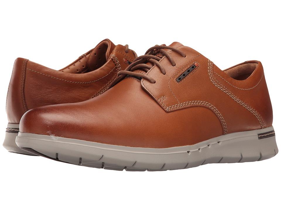 Clarks - Un.Byner Lane (Tan Leather) Men's Lace up casual Shoes