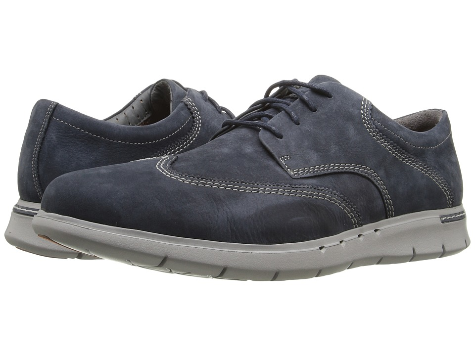 Clarks Un.Byner Way (Navy Nubuck) Men