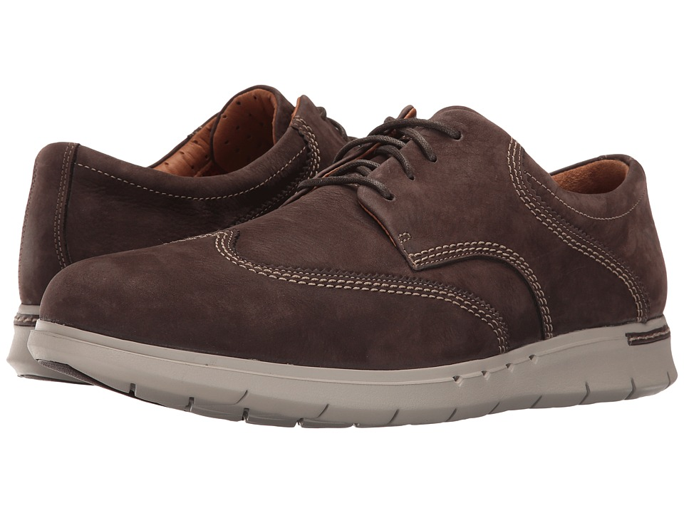 Clarks Un.Byner Way (Dark Brown Nubuck) Men