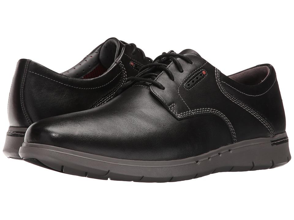 Clarks - Un.Byner Lane (Black Leather) Men's Lace up casual Shoes