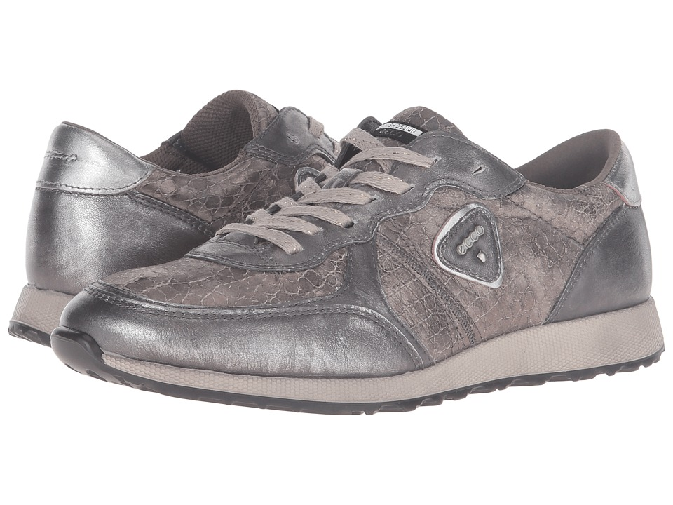 ECCO Sneak (Alusilver/Warm Grey/Alusilver) Women