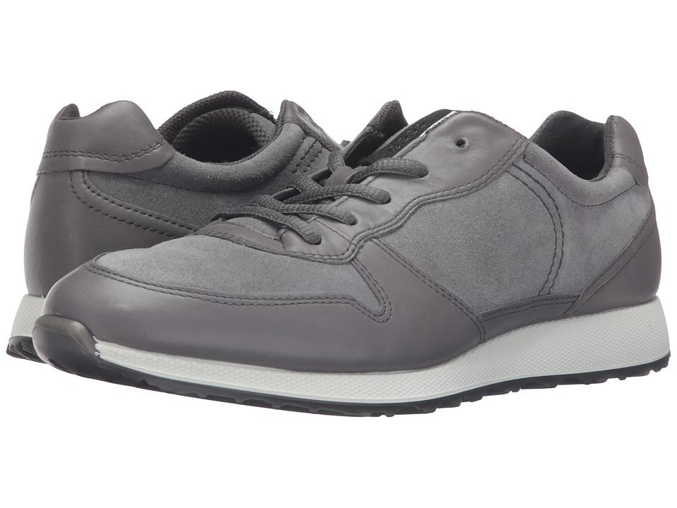 ECCO - Sneak Tie (Dark Shadow/Dark Shadow) Women's Shoes