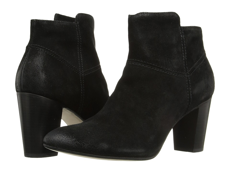Johnston & Murphy - Alex Bootie (Black Italian Suede) Women's Pull-on Boots