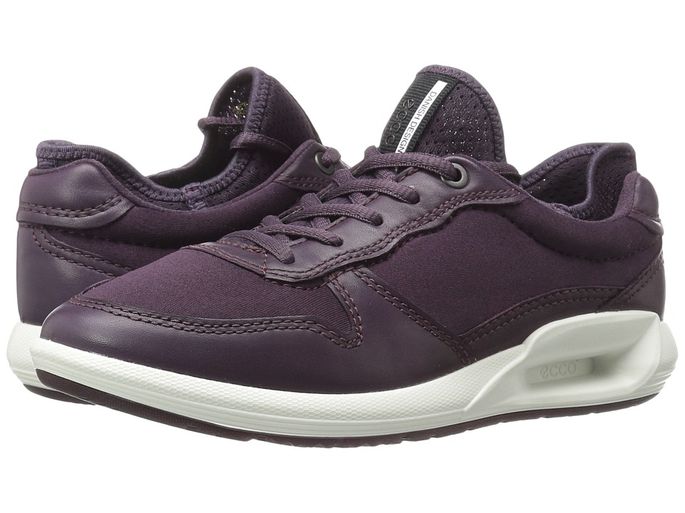 ECCO - CS16 Tie (Mauve/Mauve/Black) Women's Shoes