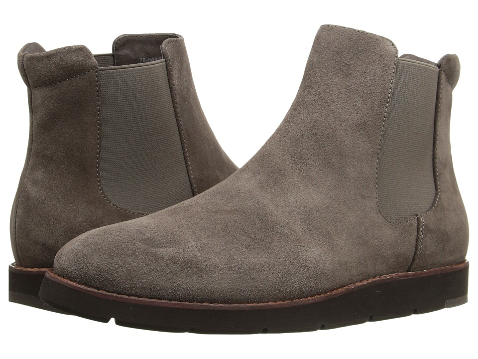 Johnston & Murphy - Bree Gore Ankle Boot (Charcoal Italian Waterproof Suede/Charcoal Waterproof Gore) Women's Pull-on Boots