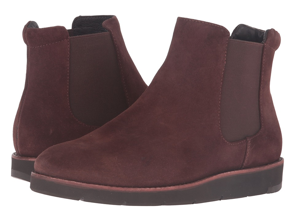 Johnston & Murphy - Bree Gore Ankle Boot (Brown Italian Waterproof Suede/Brown Waterproof Gore) Women's Pull-on Boots
