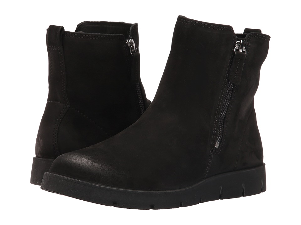 ECCO - Bella Zip Boot (Black) Women's Boots