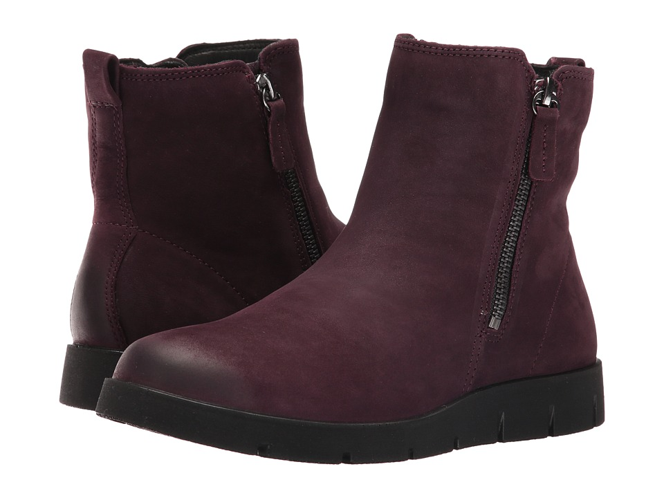 ECCO - Bella Zip Boot (Mauve) Women's Boots