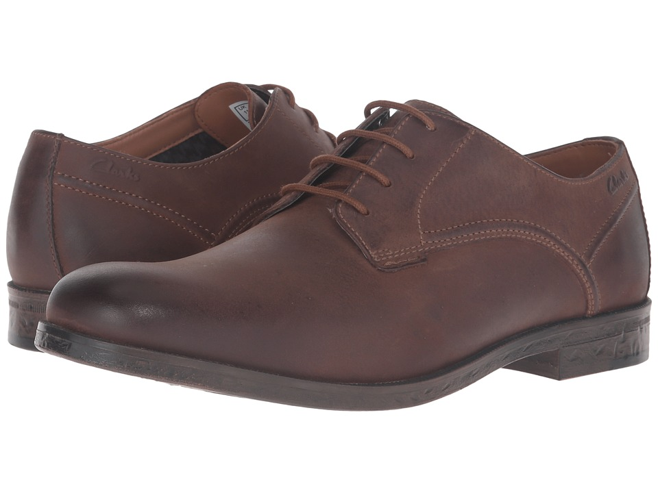 Clarks Brocton Walk (Tan Leather) Men