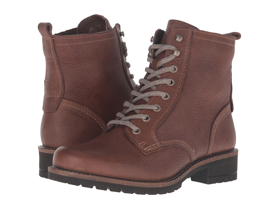 ECCO - Elaine Boot (Cocoa Brown) Women's Lace-up Boots