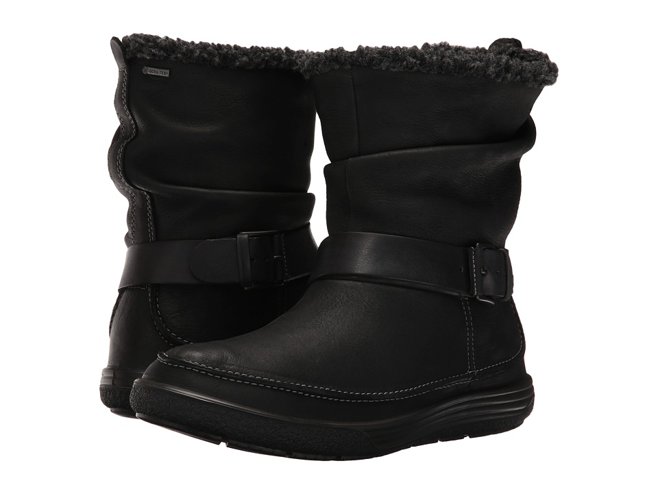 ECCO - Chase II Slouch GTX (Black/Black) Women's Boots
