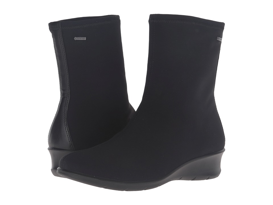 ECCO - Felicia GTX Boot (Black/Black) Women's Boots