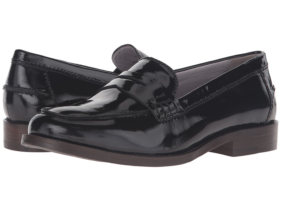 Johnston & Murphy - Gwynn Penny Loafer (Black Patent Leather) Women's Slip-on Dress Shoes