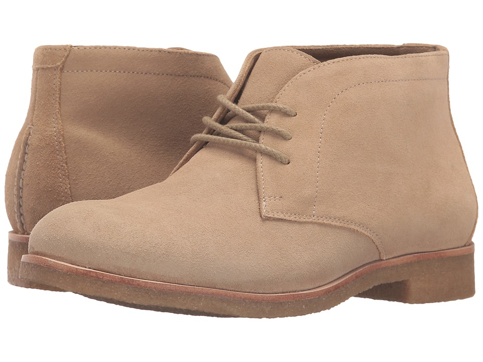Johnston & Murphy - Hayden Chukka (Sand Suede) Women's Lace-up Boots