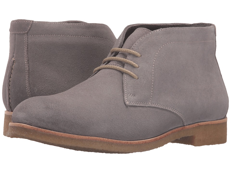 Johnston & Murphy - Hayden Chukka (Gray Suede) Women's Lace-up Boots