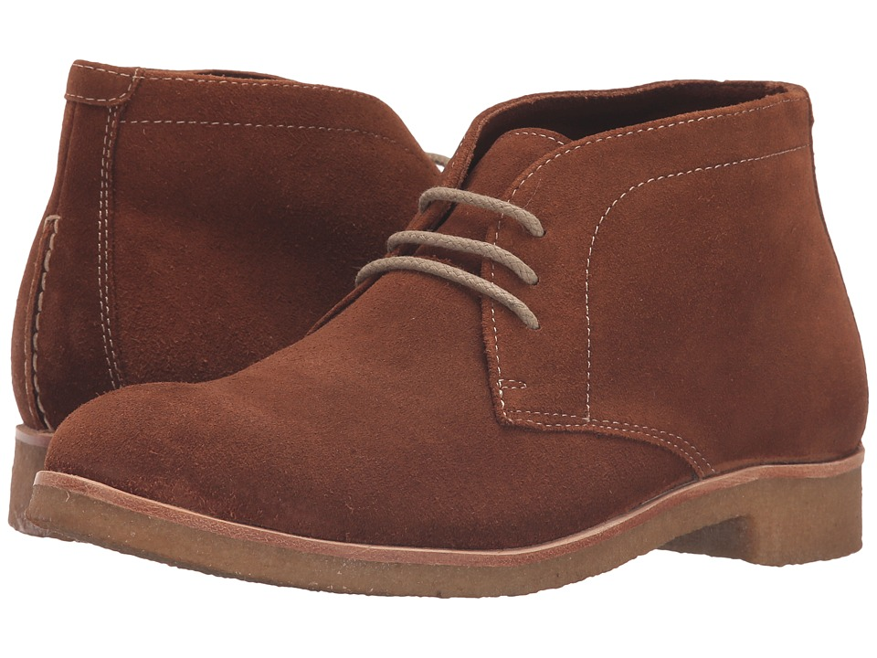Johnston & Murphy - Hayden Chukka (Cognac Suede) Women's Lace-up Boots