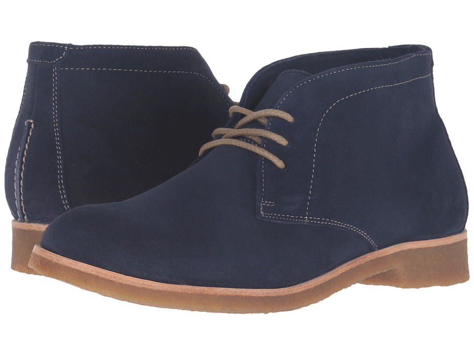 Johnston & Murphy - Hayden Chukka (Navy Suede) Women's Lace-up Boots
