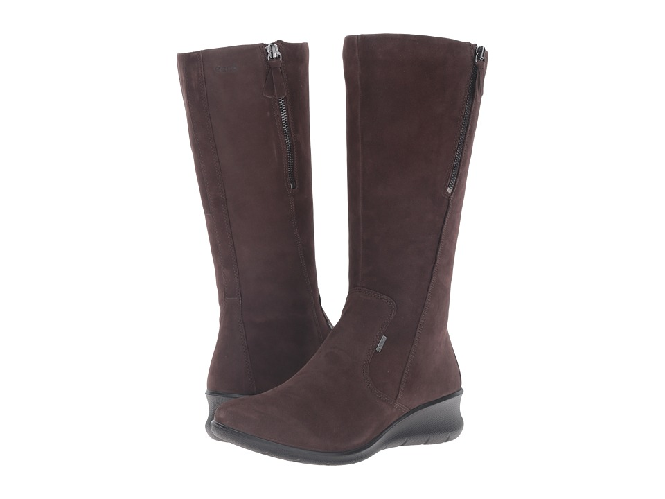 ECCO - Babett 45 GORE-TEX Boot (Mocha) Women's Boots