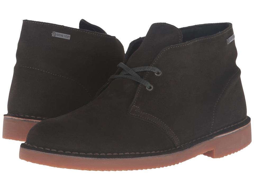 Clarks - Desert Boot GTX (Loden Green Suede) Men's Boots