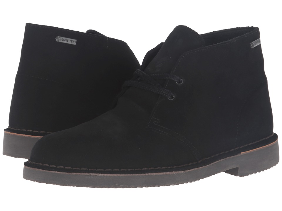 Clarks - Desert Boot GTX (Black Suede) Men's Boots