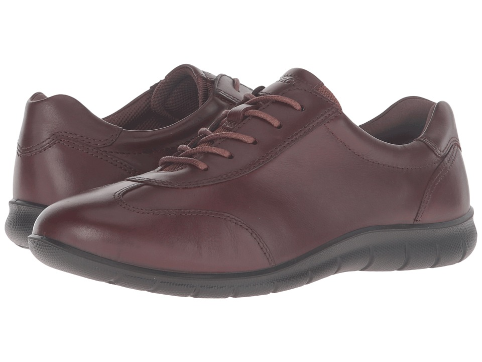 ECCO - Babett (Mink) Women's Lace up casual Shoes