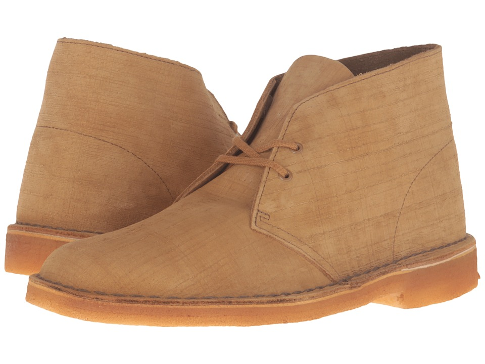 Clarks - Desert Boot (Bronze Nubuck) Men's Lace-up Boots