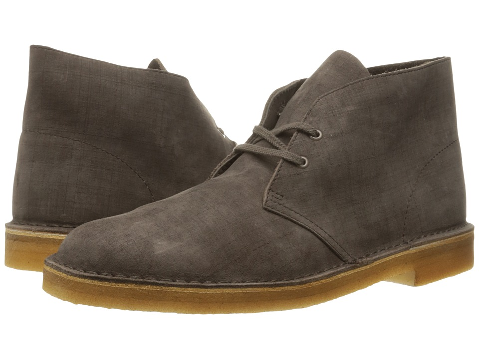 Clarks - Desert Boot (Dark Taupe Nubuck) Men's Lace-up Boots