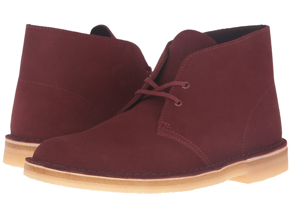 Clarks - Desert Boot (Nut Brown Suede) Men's Lace-up Boots