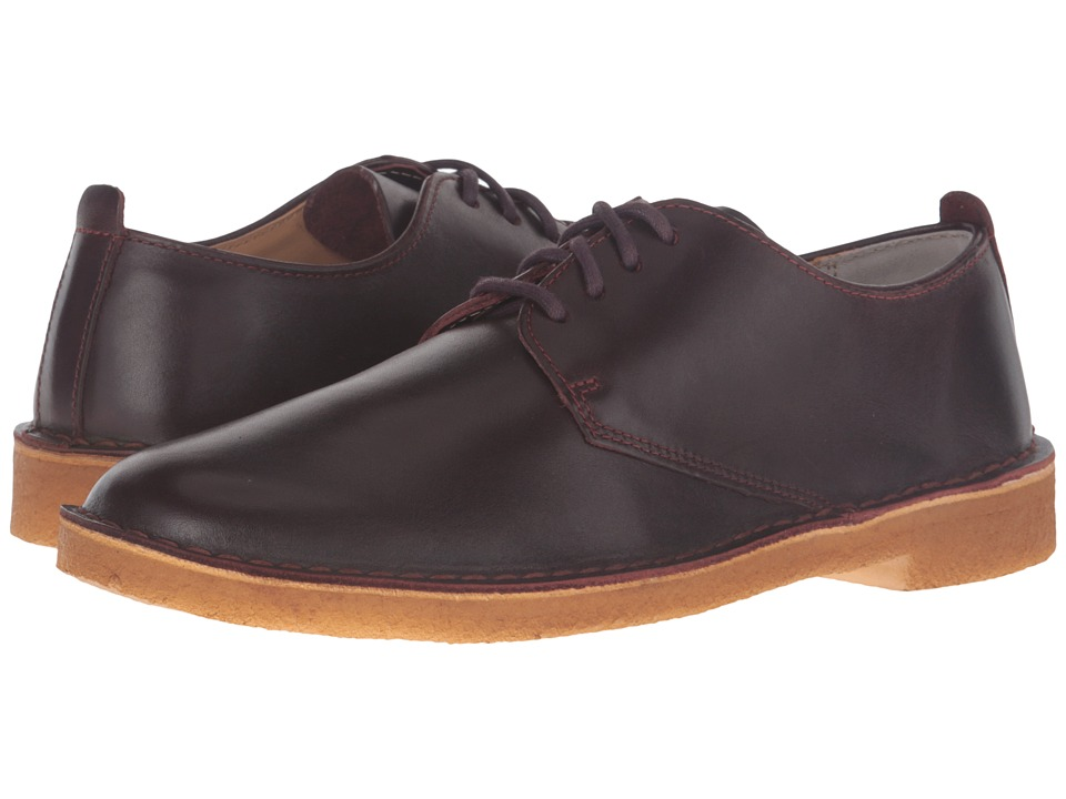 Clarks - Desert London (Nut Brown Leather) Men's Lace up casual Shoes