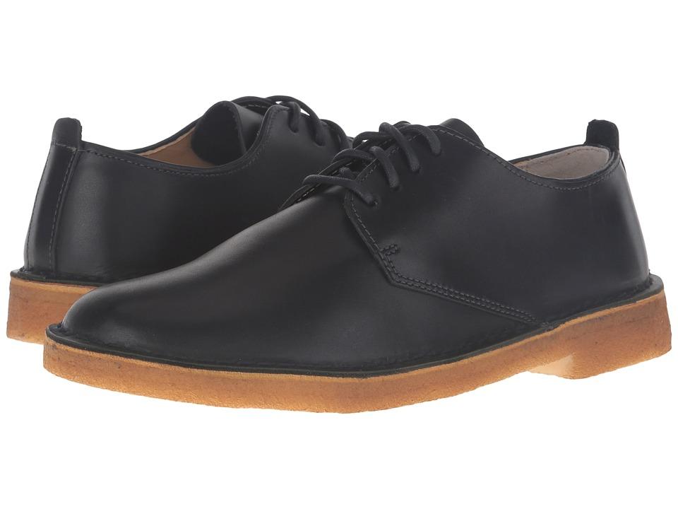 Clarks Desert London (Dark Navy Leather) Men
