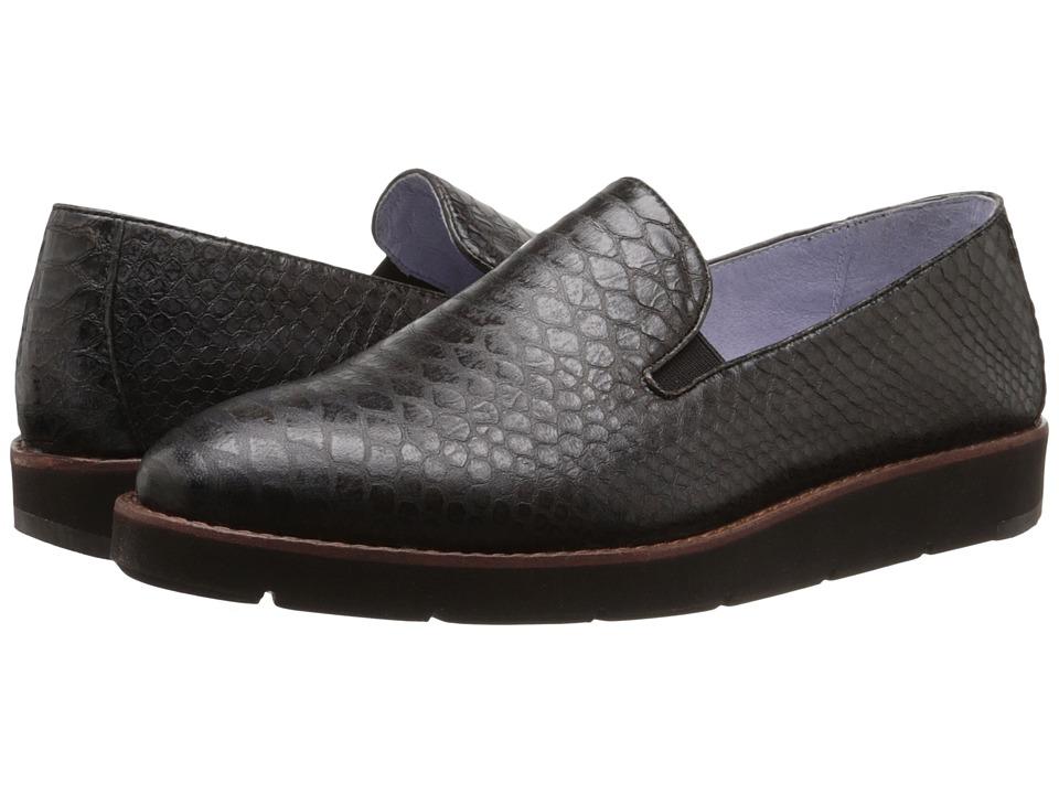 Johnston & Murphy - Paulette Slip-On (Brown Italian Snake Print Leather) Women's Slip-on Dress Shoes