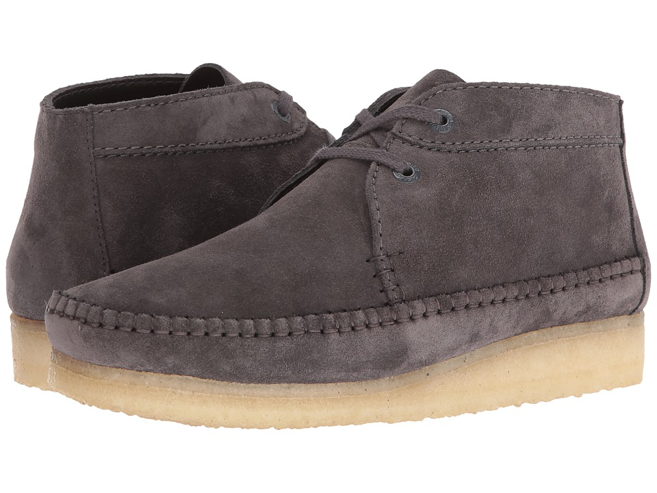 Clarks Weaver Boot (Charcoal Suede) Men